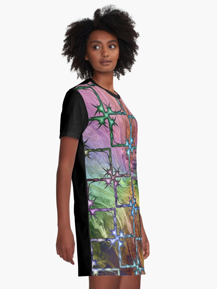 Alternate view of Perilous Graphic T-Shirt Dress
