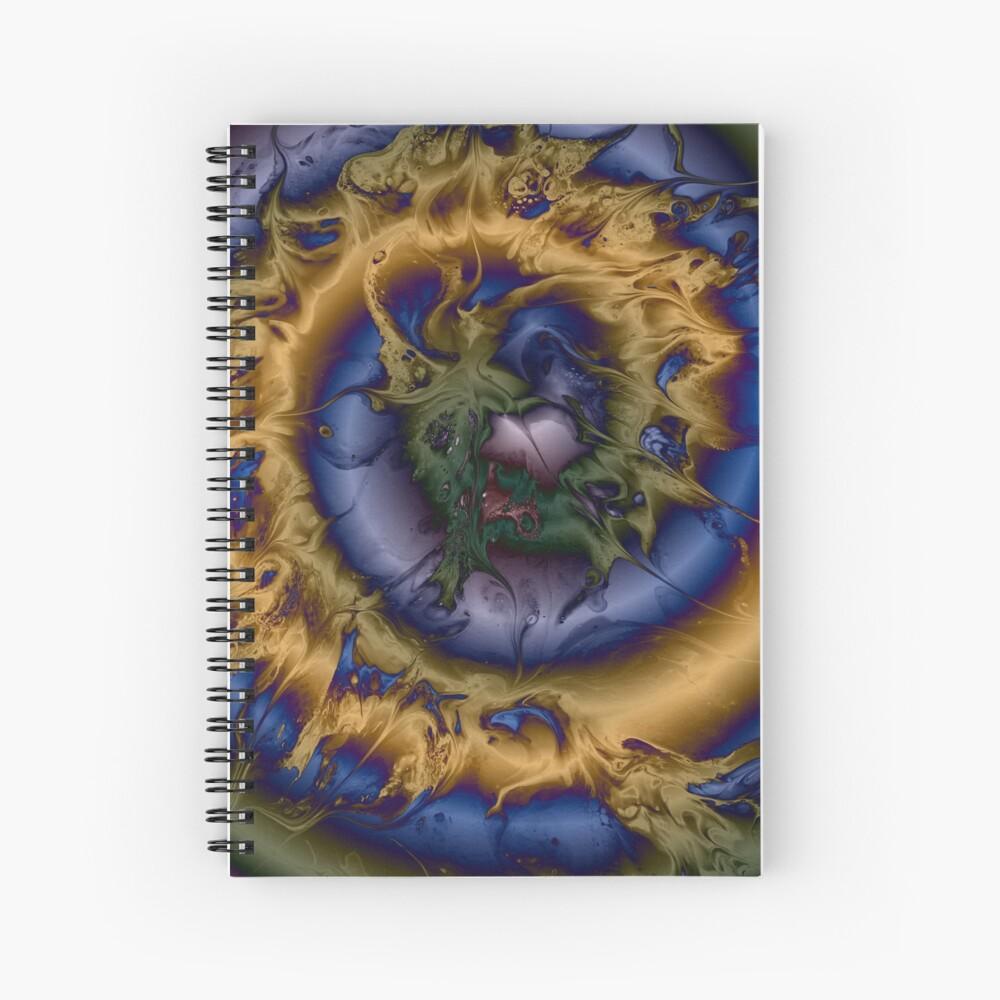 Silken Spiral Spiral Notebook