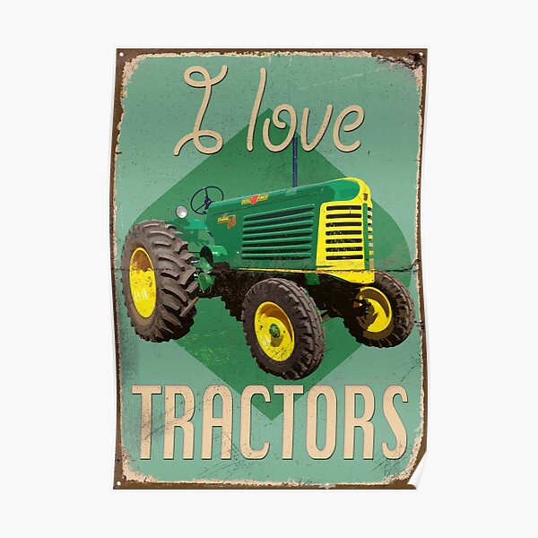 TractorPosterOL_01a Poster