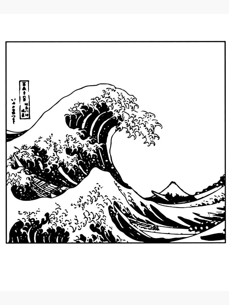 The Great Wave Off Kanagawa by SarrazinApparel