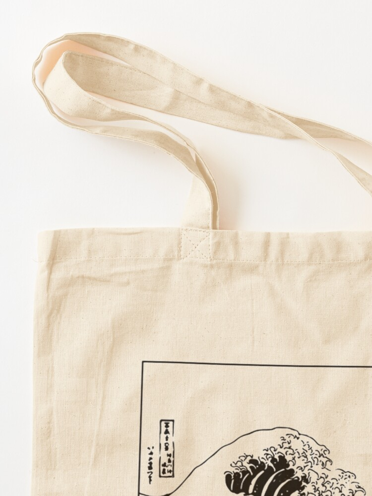 Alternate view of The Great Wave Off Kanagawa Tote Bag