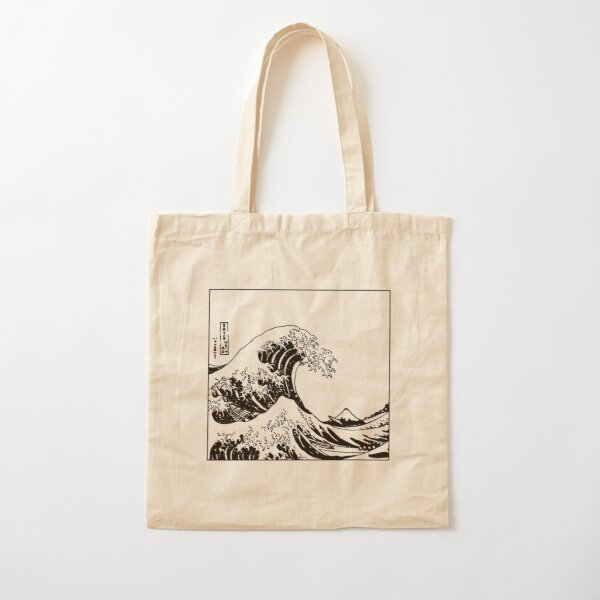 La grande vague au large de Kanagawa Tote bag classique