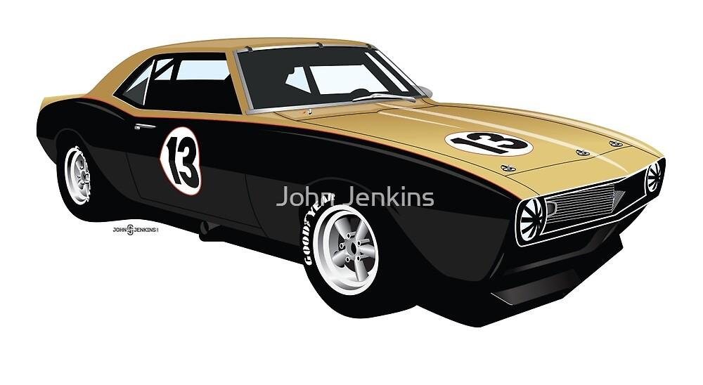 1968 Trans-Am Camaro by John Jenkins