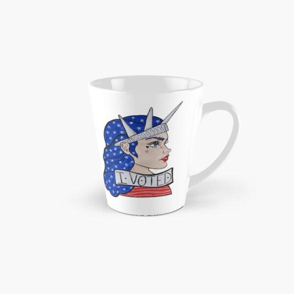 I Voted Tall Mug