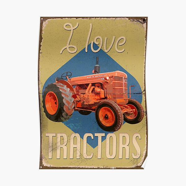 TractorPosterCH_01a Poster
