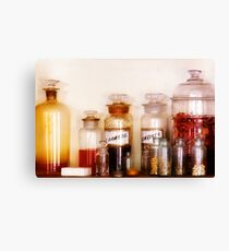 Pharmacy - The wizards pantry Canvas Print