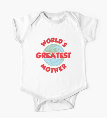 World's Greatest Mother Kids Clothes