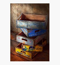 Food - Beverage - Pepsi-Cola boxes  Photographic Print