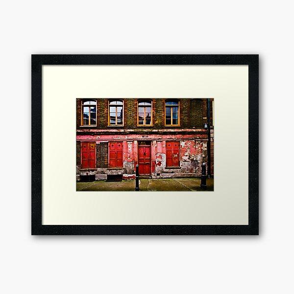 Hanbury Street, London Framed Art Print