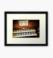Decaying Organ by Bishop & Son Framed Print