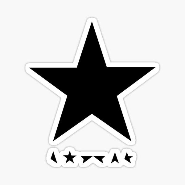 Star high quality Rebel rebel David shirt bowie Sticker
