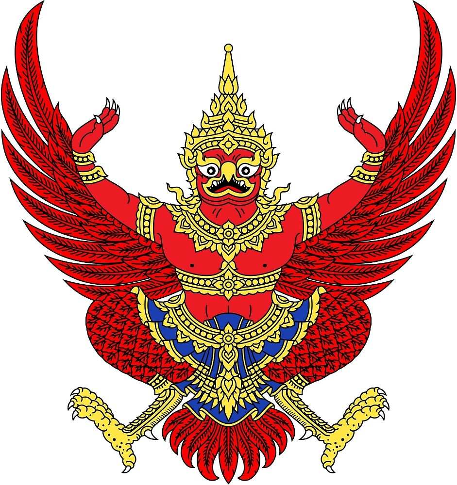 National Emblem of Thailand  by abbeyz71