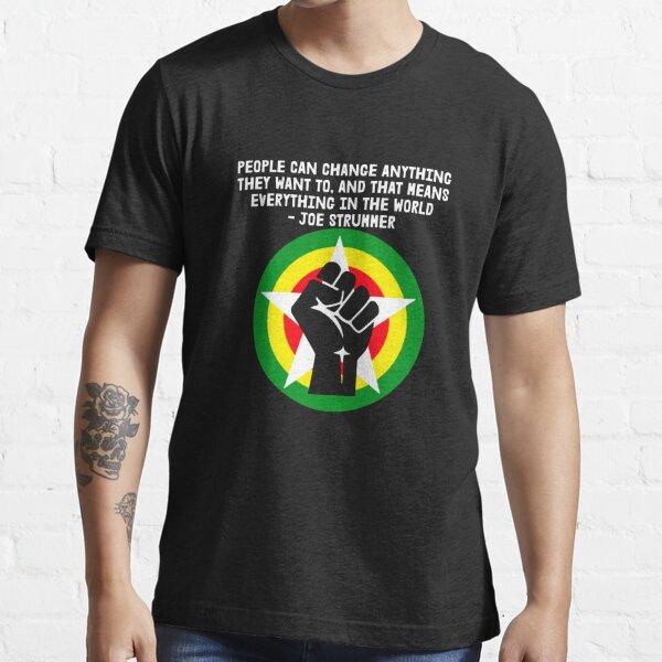 BLM - Joe Strummer Quote for dark colors Essential T-Shirt
