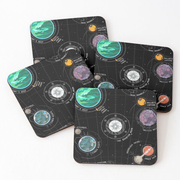 Outer Wilds System Coasters (Set of 4)