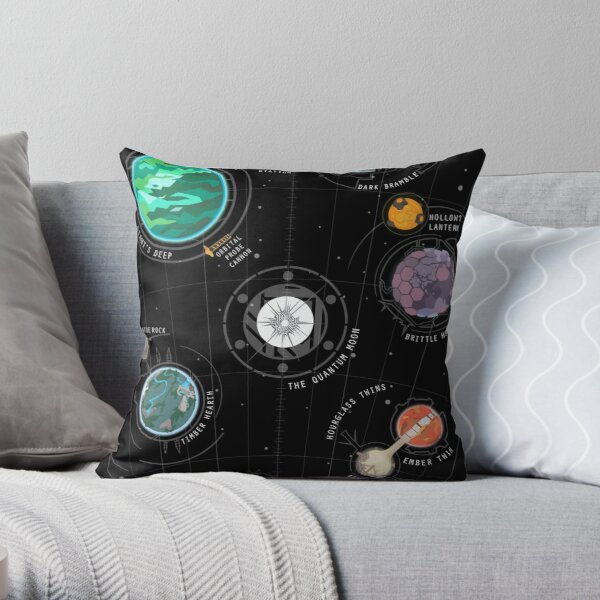 Outer Wilds System Throw Pillow