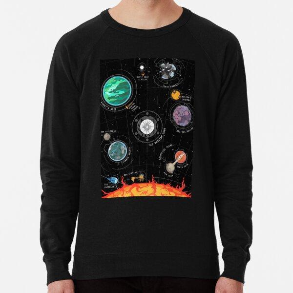 Outer Wilds System Lightweight Sweatshirt