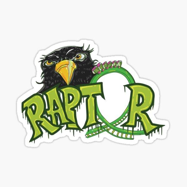 Raptor Design Digital Sticker