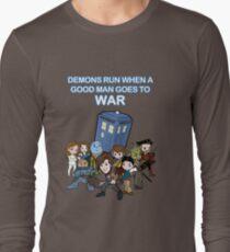 Demons Run When A Good Man Goes to War T-Shirt