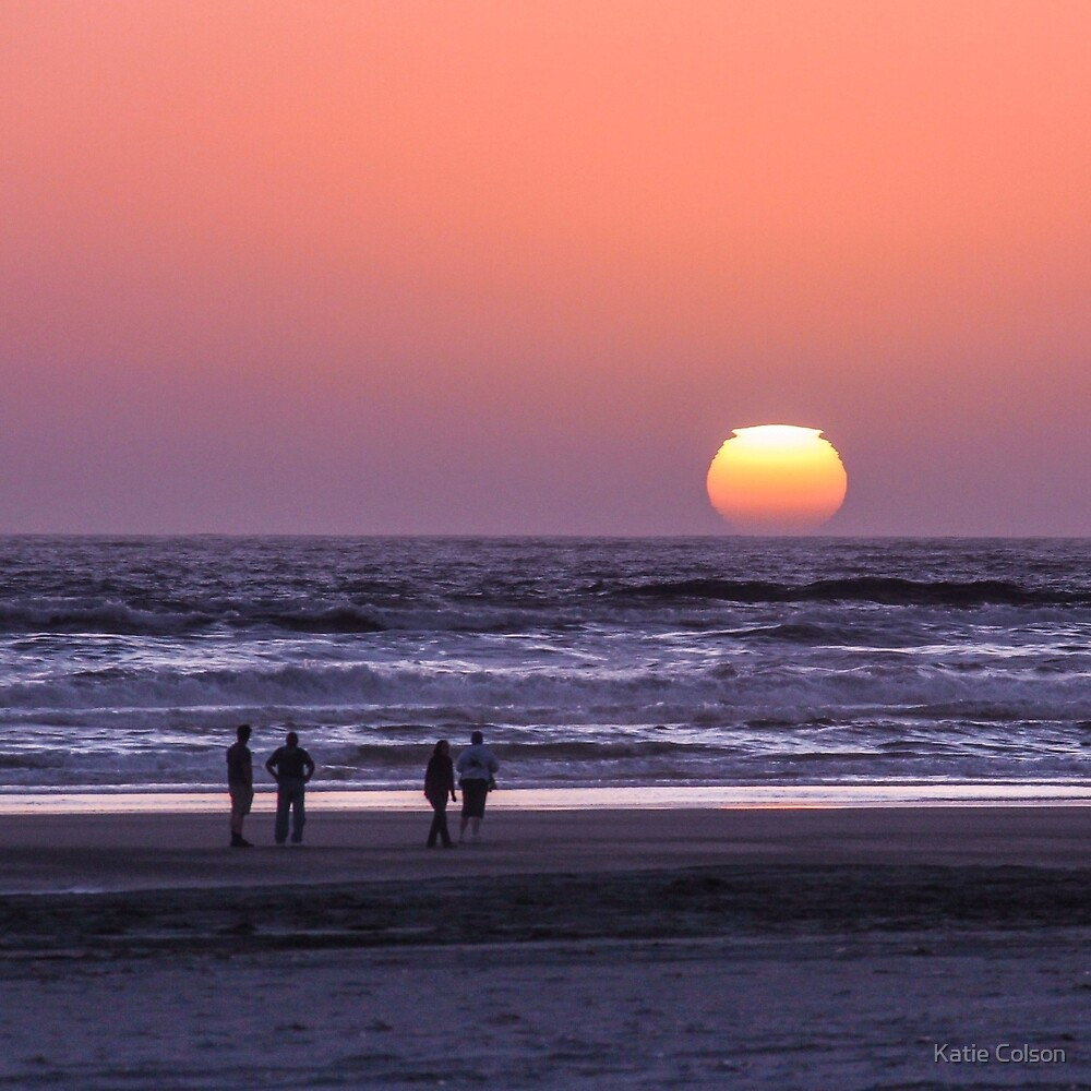 Ocean Park Sunset by Katie Colson
