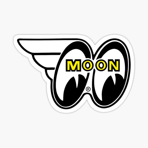 Moon eyes Sticker