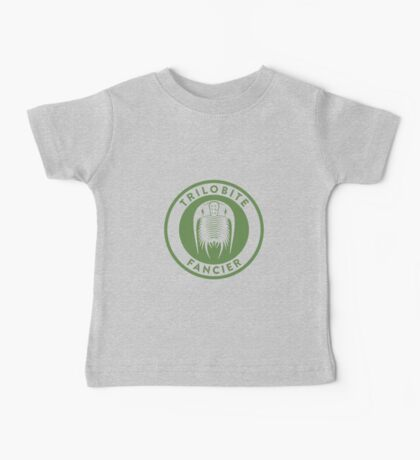 Trilobite Fancier (green on white) Kids Clothes