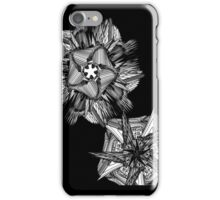 Abstract B&W Print iPhone Case/Skin
