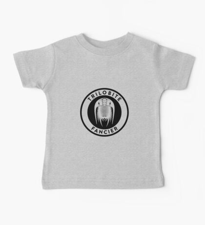 Trilobite Fancier (black on light) Kids Clothes