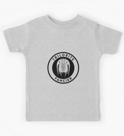 Trilobite Fancier (black on light) Kids Clothes