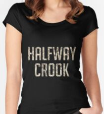 Halfway Crook Women's Fitted Scoop T-Shirt