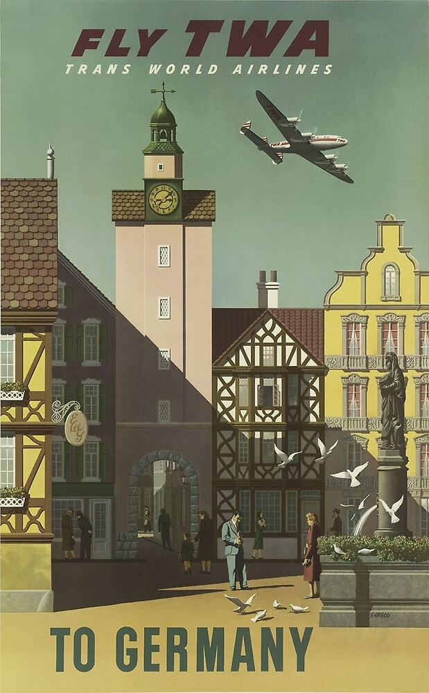 Vintage poster - Germany by mosfunky