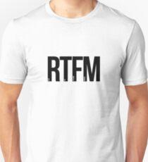 RTFM - Read The Fu%king Manual T-Shirt