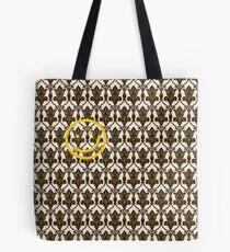 BBC Sherlock Holmes Damask Wallpaper Pattern Tote Bag