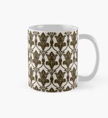 BBC Sherlock Holmes Damask Wallpaper Pattern Mug