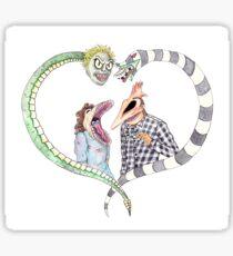 Beetlejuice - Adam & Barbara Sticker