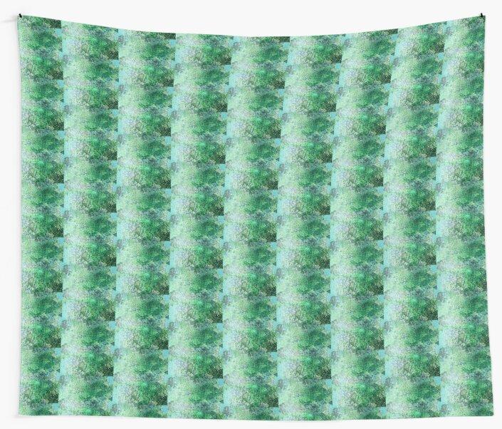 green geometric glitter by tinysugarspree