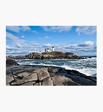 Lighthouse in Maine USA  Photographic Print
