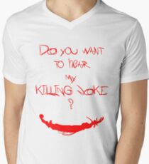Killing joke 1 Mens V-Neck T-Shirt