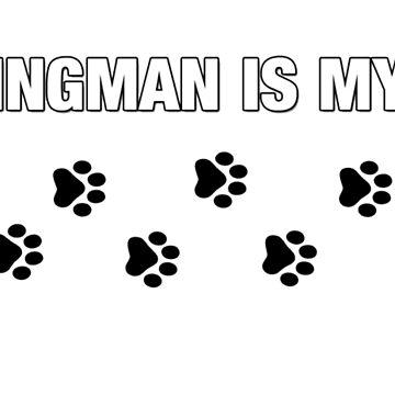 MY WINGMAN IS MY DOG. by RedDoge