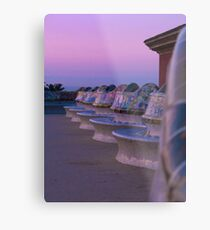 Sunrise in Parc Guell Metal Print