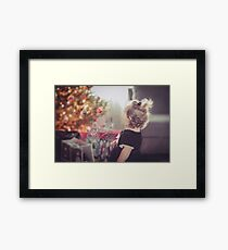 The Wonder in a Childs Eye Framed Print