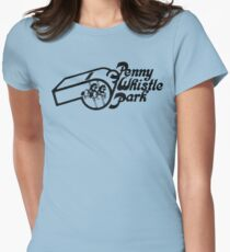 Penny Whistle park Women's Fitted T-Shirt