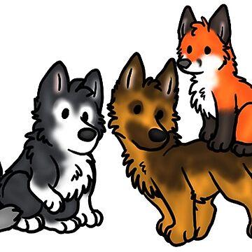 Doges by RedDoge