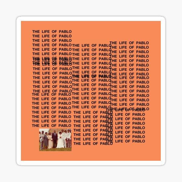 TheLifeOfPabloWest Sticker