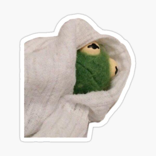 Blanket Kermit Sticker