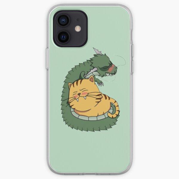 Dragon et tigre de Taradora Coque souple iPhone