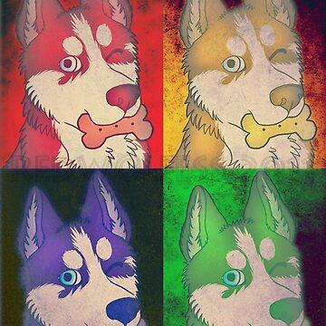 Pop husky by RedDoge