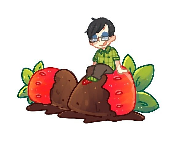 dan + phil: strawberry phil by Lungwort