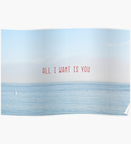 ALL I WANT IS YOU Poster