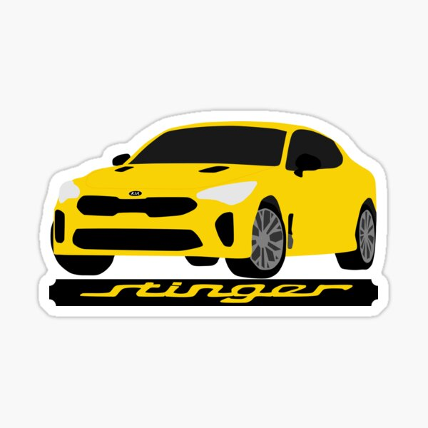 Kia Stinger Sticker