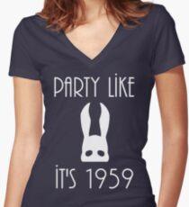 1959 Women's Fitted V-Neck T-Shirt